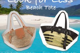 Look for Less: Beach Tote