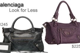 Look for Less: Balenciaga