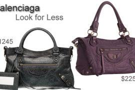 Look for Less: Balenciaga