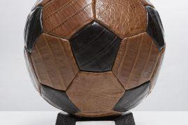 Santiago Gonzalez Creates a $5,200 Crocodile Soccer Ball