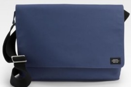 Father's Day Gift Idea: Jack Spade Rubberized Cotton Pipe Messenger Bag