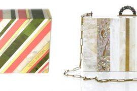 Louis Vuitton and Lanvin show mother of pearl clutches for Resort 2011