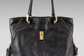 A Great Black Bag: Marc Jacobs Amber Corner Zip Tote