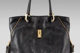 A Great Black Bag: Marc Jacobs Amber Corner Zip Tote