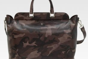 Prada debuts camouflage for fall