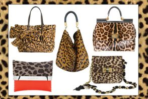 Leopard print is the new big thing in bags