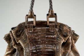 If you're not in to exotics, please avert your eyes from this Carlos Falchi bag