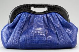 If you don't like this Nancy Gonzalez clutch, I don't think we can be friends anymore.