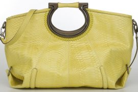 Yearning for Yellow Ferragamo Bags