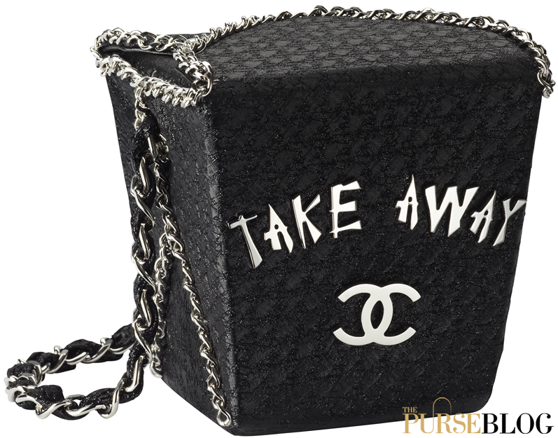 aab09d1f57cc Chanel Take Away Box Bag - PurseBlog