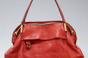 Chloé's latest bag is red all over