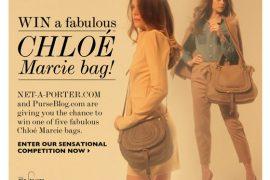 LAST DAY: Chloe Marcie Giveaway (FIVE bags!)