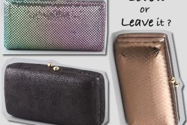 Love it or Leave it: Halston Heritage Susan Clutch