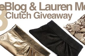 Giveaway: 3 Louise Clutches from Lauren Merkin