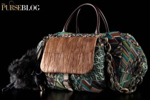 The now infamous Missoni Chicken Foot Bag