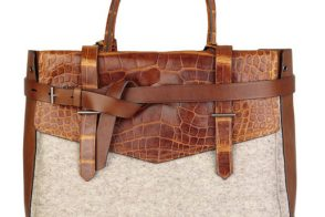 Reed Krakoff alligator tote back in stock at Net-a-Porter