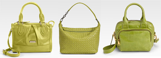 a93ae682b293 Chartreuse will be one of spring's biggest colors - PurseBlog