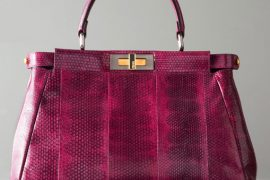 Fendi makes the Peekaboo look fresh with texture and color