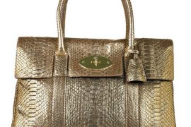 Mulberry goes for simple luxury with python Bayswater