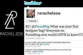 Rachel Zoe's First Designer Handbag