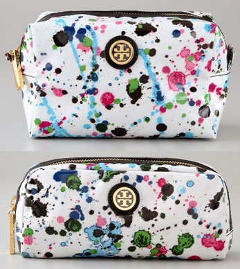 5935c71dbf7 Tory Burch splatters paint on Cosmetic Cases - PurseBlog
