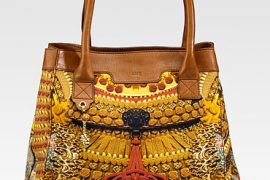 Alexander McQueen's Fall 2010 prints make their handbag debut