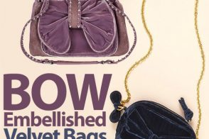Look for Less: Bow Embellished Velvet Bag