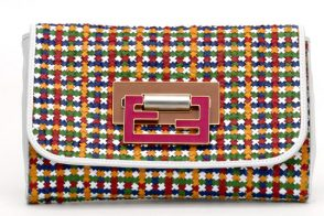 Vogue gives as a closer look at a piece of multicolor heaven from Fendi Spring 2011