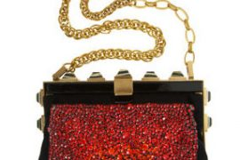 Lanvin makes the perfect holiday party bag