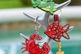 Comment & Win one of four adorable Coach key rings