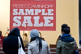 Our look at the VIP Rebecca Minkoff Sample Sale