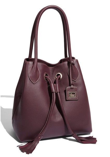Dooney & Bourke makes a surprisingly sophisticated drawstring tote ...