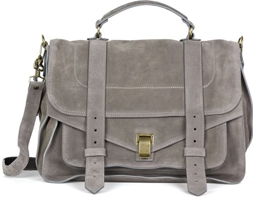 PS1 satchel - Grey Proenza Schouler Sale Sneakernews Factory Outlet Cheap Online Cheap Sale Fake Factory Price HSoBhzO01E