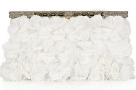 If you're getting married in the spring, get your Valentino wedding clutch now