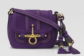 Gucci presents the perfect purple for Spring 2011