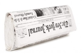 I'm utterly obsessed with Kate Spade's newspaper clutch