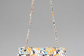 Prada makes a traditional shape into a fun, casual bag
