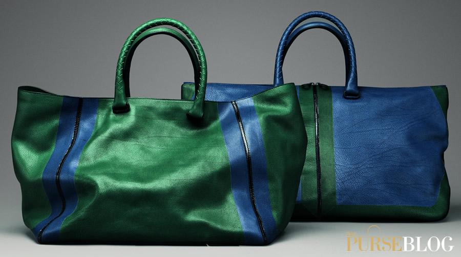Man Bag Monday Bottega Veneta Vintage Calf Flag Tote Purseblog