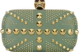 Alexander McQueen tones down his punk clutch