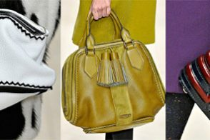 Fashion Week Handbags: Burberry Prorsum Fall 2011