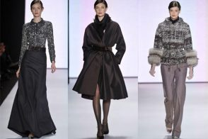 Mercedes-Benz Fashion Week New York: Carolina Herrera Fall 2011