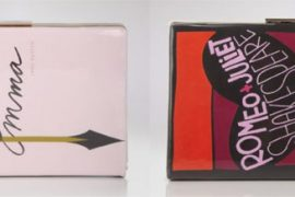Kate Spade releases two romantic book clutches just in time for Valentine's Day