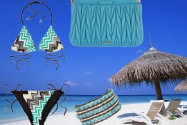 Think warm thoughts with turquoise accessories