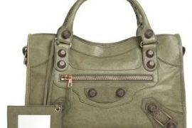 The Balenciaga City goes Military Green