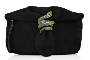 Pay homage to the Bronx Zoo cobra with a Jimmy Choo snake bag