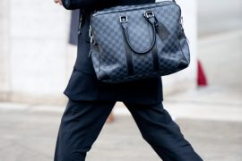 Man Bag Monday: Louis Vuitton Damier Graphite Voyage