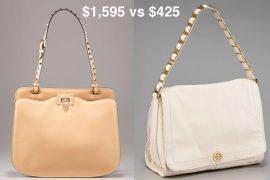 Look for Less: Accented Shoulder Strap Bag