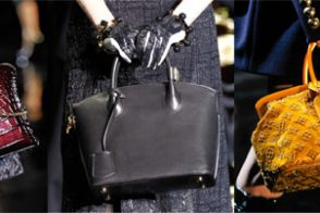 Fashion Week Handbags: Louis Vuitton Fall 2011