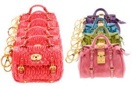 Miu Miu follows in Balenciaga's footsteps, offers tiny bags as charms