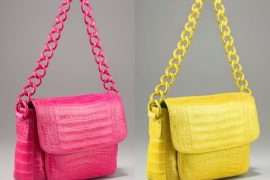 Spring into the season with a bright exotic bag